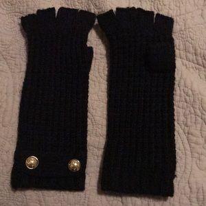 Fingerless Michael Kors knit gloves